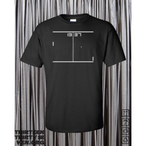 1337 Pong Shirt, Black.
