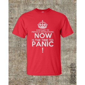 Now is the Time to Panic