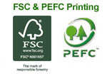 FSC and PEFC Printing